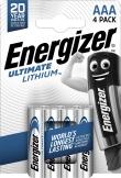 Dure jusqu'à 11X plus longtemps qu'une Alcaline Standard ENERGIZER. - Utilisable