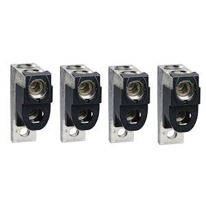 4 bornes - pour câbles 2x35..240mm² et sépar. phases - pour NSX400-6300 INV/INS