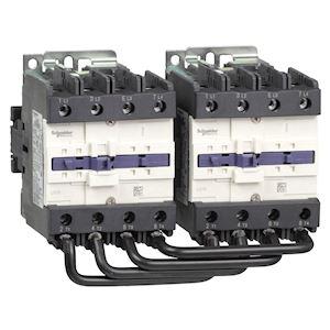 TeSys LC2D - contacteur inverseur - 4P - AC-1 440V - 125A - bobine 400Vca