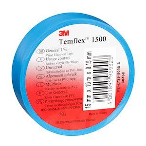 Temflex  1500 Bleu 15mmx10m