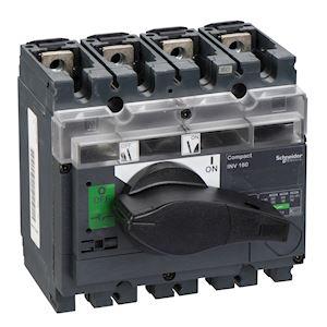 interrupteursectionneur à coupure visible Interpact INV160 4P 160 A