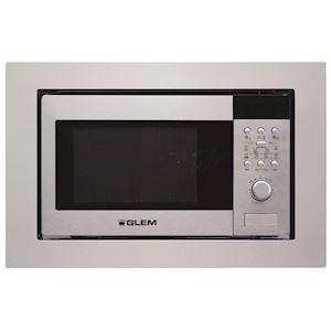 Micro-ondes gril intégrable - Meuble haut / Niche 38 cm - Électronique - 8 progr