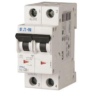Disj FAZ 2P 2A 15kA (IEC/EN 60947-2) cbe C