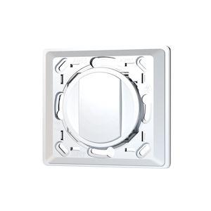 Kit support blanc EnOcean compatible CELIANE 1 touche large blanche