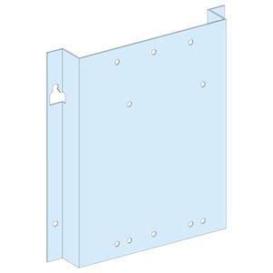 Platine pour NSX-INS-INV630 vertical fixe, commande maneton, en gaine L = 250 mm