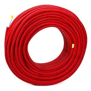 Tube MultiSkin Gainé Rouge 16x2 - 100m