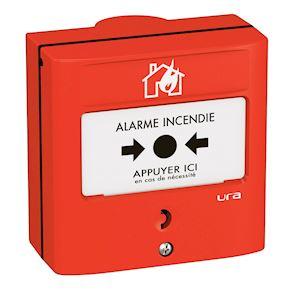 Découvrez les déclencheurs et détecteurs incendie URA