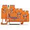 Borne alimentation avec Led pour capteurs 3C / Orange