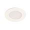 LED'UP ECO SLIM rond blanc mat 7W 420lm 3000K 120DEG fixe IP44