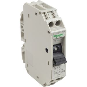 TeSys GB2-CD - disjoncteur pour circuit de contrôle - 1A - 1P+N - 1d