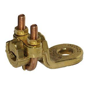 CC 10-70 A D11-Cosse droite à bride acier 10-70mm²-Diamètre bornage: 11mm