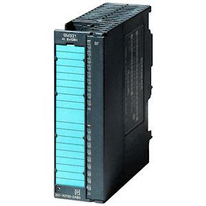 SM 331 8E ANA 9/12/14 bits U/I/R/PT100 alarme, diag 20 PTS