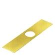 Etiquette jaune pour 3SB38 sans inscription