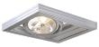 AIXLIGHT KARDAFRAME WALL QRB111, gris argent, max. 50W