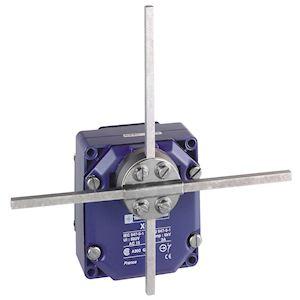 OsiSense XCR - inter. de position - pos.maintenue tige T carrée 6mm - 2x(1O+1F)