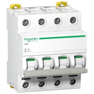 Acti9, iSW interrupteur-sectionneur 4P 63A 415VAC
