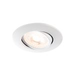 EASY INSTALL QPAR51/GU10, encastré, blanc mat, 20W max
