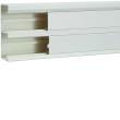 Goulotte appareillable queraz enclipsage direct h 134 x p 56mm L200mm PVC blanc