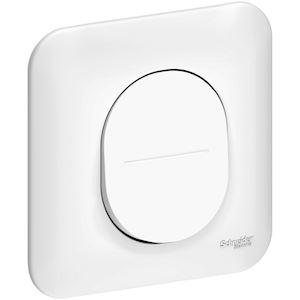 Ovalis - interrupteur simple allumage - 10AX - avec griffes