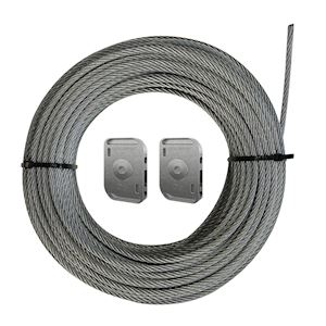 Câble Tendu Intérieur horizontal CTI6 L=15 (100 kg)
