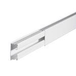 Moulure DLPlus 32x16mm 1 compartiment longueur 2,1m - blanc