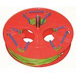 Bobine à sandows diamètre 300 mm, largeur utile maxi 100 mm -