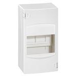 Coffret cache-bornes 4 modules - blanc RAL9010