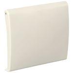 Prise Neo blanche de dimensions 90x82mm compatible centrales d'aspiration Aldes