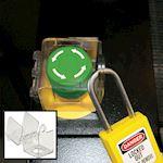 Capot de protection bouton poussoir pour commutateur rotatif