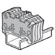 Cloison terminale pr bloc jonc Viking 3 ressort - 2 entrées/ 2 sorties - pas 5