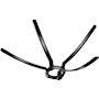 Bride araignee pour conduit D 80 (x6)