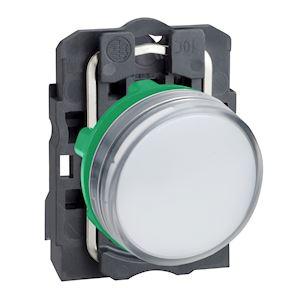 Harmony voyant rond D=22 - IP66 - blanc - LED intégrée - 24V