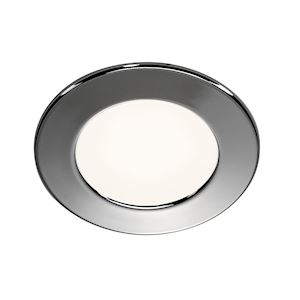 DL 126 LED, encastré rond, chrome, 2.8W LED 3000K, 12V