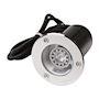 RENA ROND INOX 316L AVEC 5,4W LED 3000K 40D GU 10 CL I IP68
