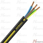 Câble rigide R2V Distingo cuivre 3G2,5 couronne de 100m