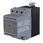 Contacteur statique 2ph 600V cmd ana(V) proportionnel 1 cycle 2x25A ctrl charge