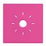 Coque couleur rose pour détecteurs INSAFE