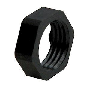 Ecrou M12 polyamide 6 FV noir 9005