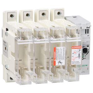 TeSys GS - interrupteur sectionneur fusible - 4P - 160A - din 0