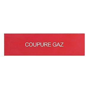 LOT DE 3 ETIQUETTES COUPURE GAZ POUR COFFRET 125