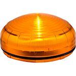 MLINE Feu LED ORANGE fixe/clignotant/strobos lentille Fresnel IP66 multitension