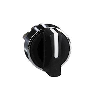 Harmony XB4 - tête bouton tournant à manette - D=22 - 2 posit fixes - noir