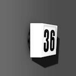 Luminaire pour numéros de maison Opalglasleuchten A60/60W,E27 125x235x225