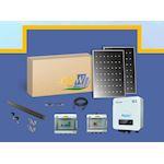 Kit Solaire string 3KW-10 PV 300W-monitoring-toit tuile ETN-Coffret AC/DC