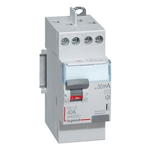 DX3 INTER DIFFERENTIEL 2P 40A AC 30MA TG