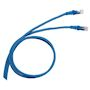 CORDON RJ45/RJ45 STANDARD CAT6  F/UTP  PVC BLEU 1 M