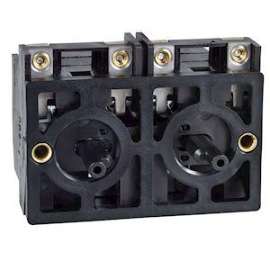 Harmony XESD - bloc de contact à rappel - 2F+1OF - mont. frontal - entraxe 40mm