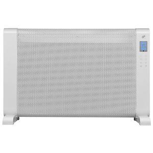 Panneau radiant mobile, thermostat électronique, écran LCD. 750/1500 W, Cl II