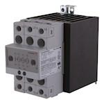 Contacteur statique 3ph 600V cmd cc zero de tension 3x25A