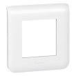 Plaque Programme Mosaic - 2 modules - Blanc